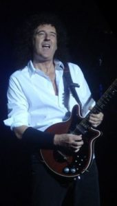 Brian May mit Red Special